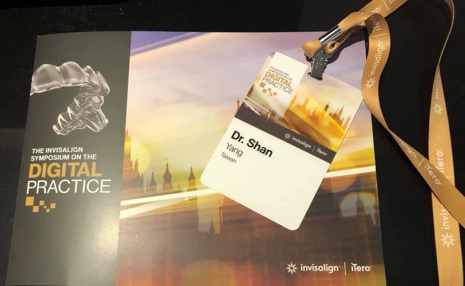 隱適美全球高峰會-Aligner-300-in-London-珊醫師很榮幸受邀為台灣代表隊