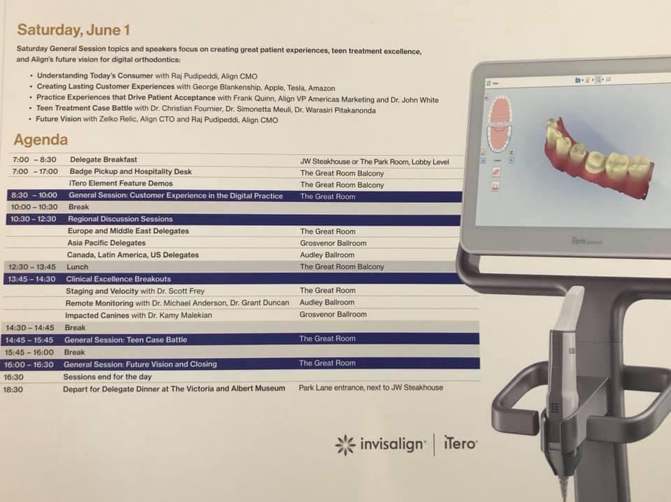 隱適美全球高峰會-Aligner-300-in-London-第三天以醫師分享與隱適美隱形矯正的未來發展為主