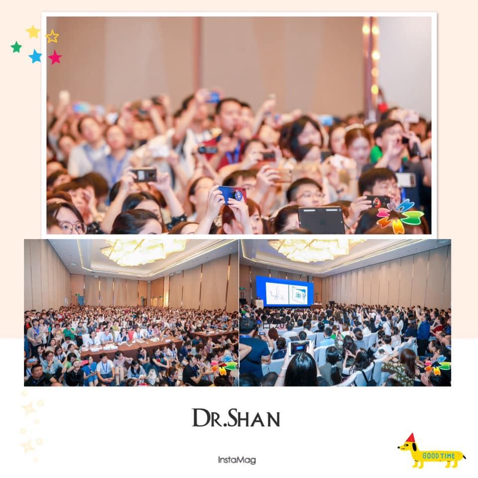 台中牙齒矯正-楊念珊醫師-Dr.珊-中國牙齒矯正-演講2019 COS南京大會現場